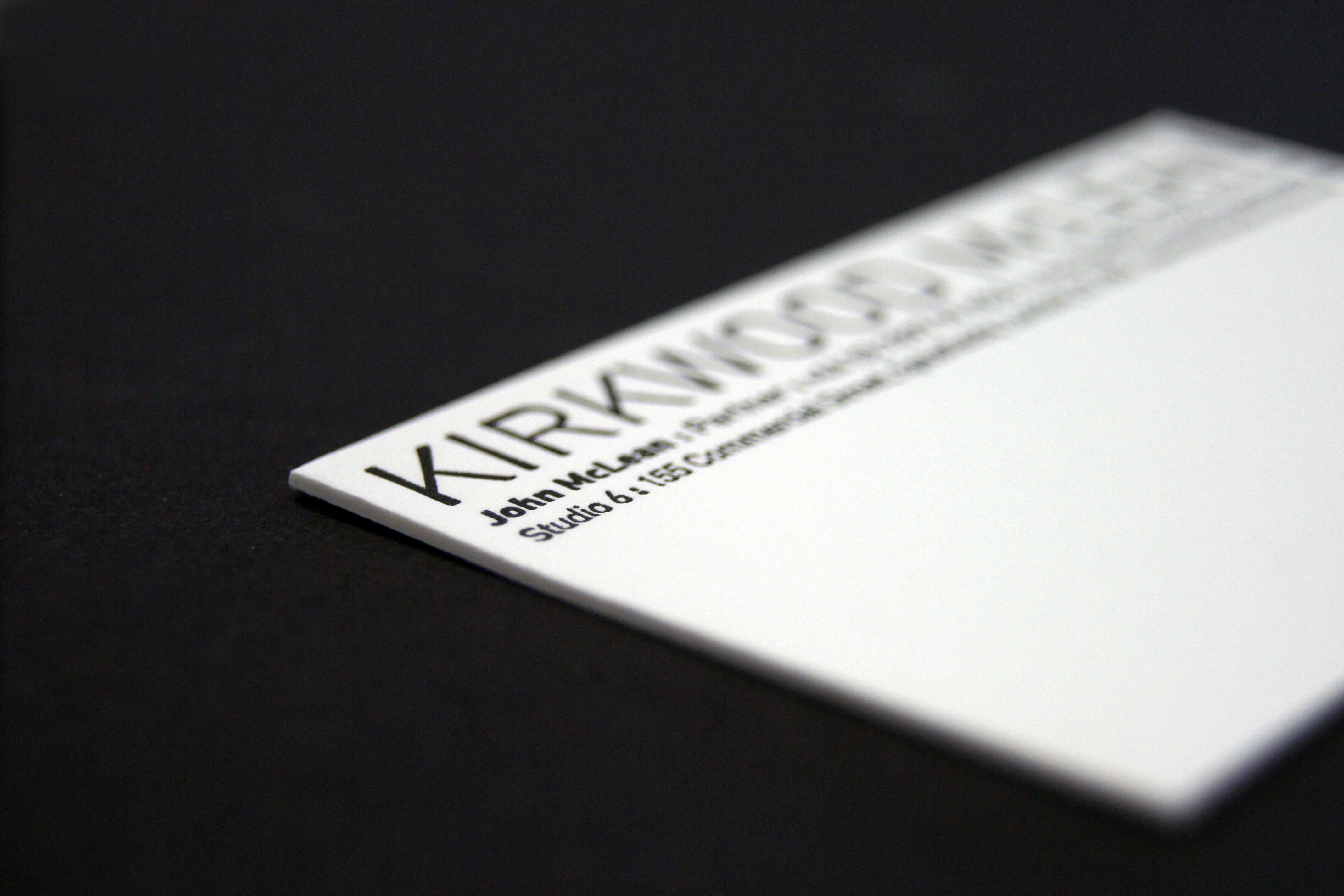 Kirkwood McLean cards