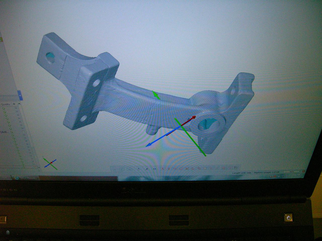 Broken press update – 3D printing & scanning
