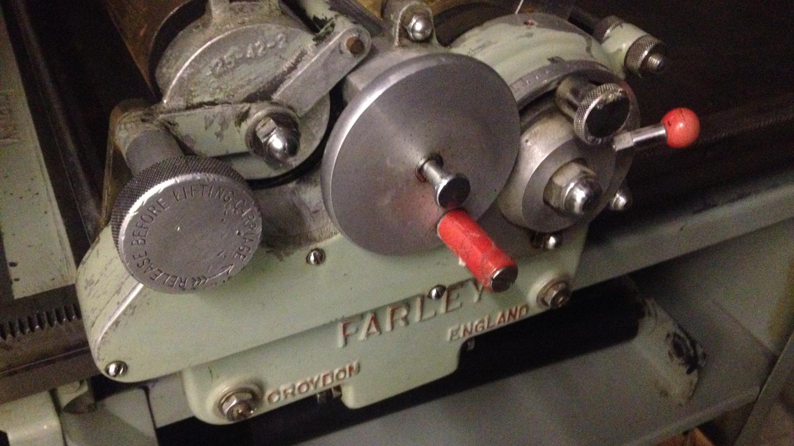 Farley Proofing Press