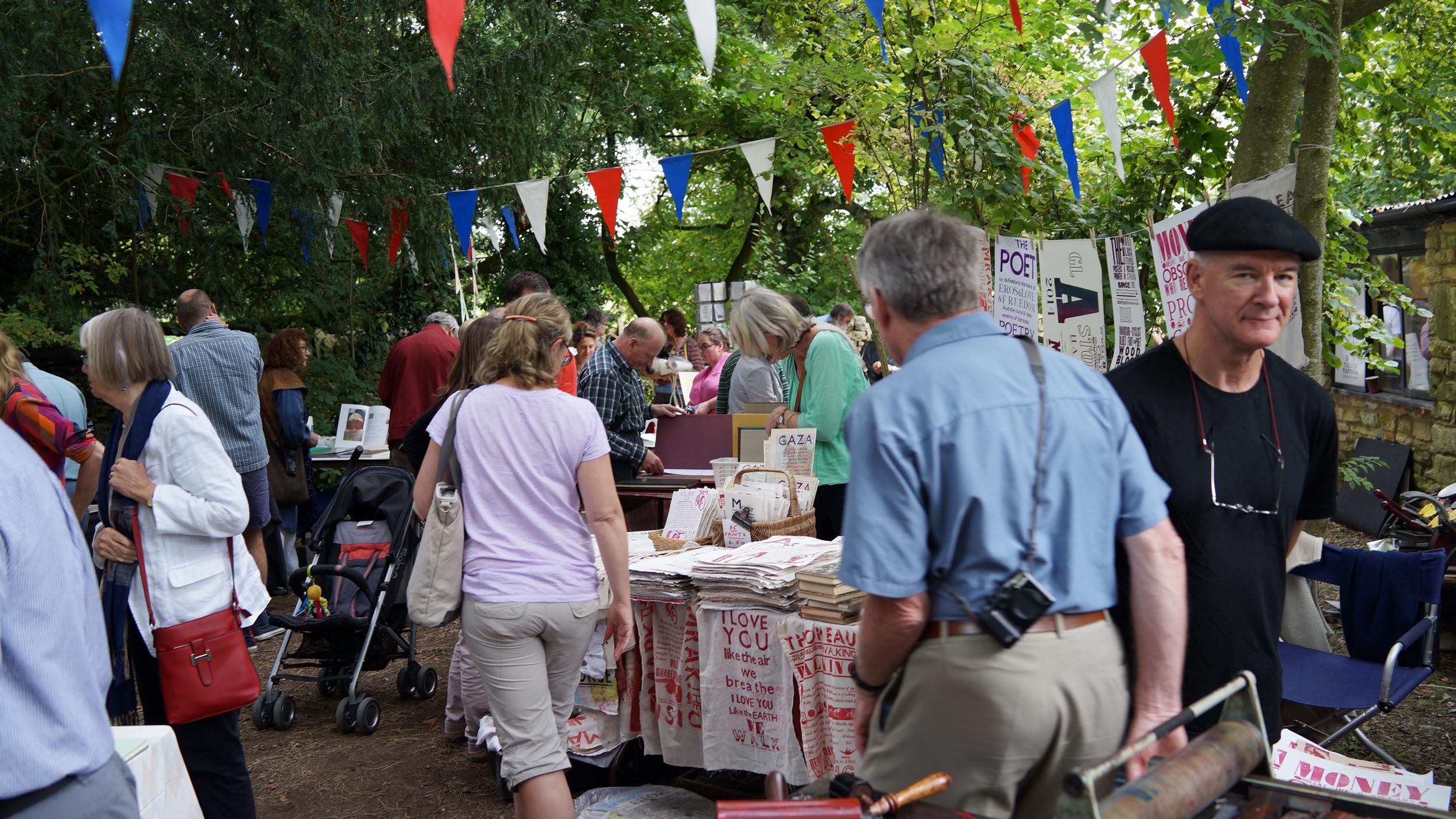 Whittington Press open day – Presstival 2014