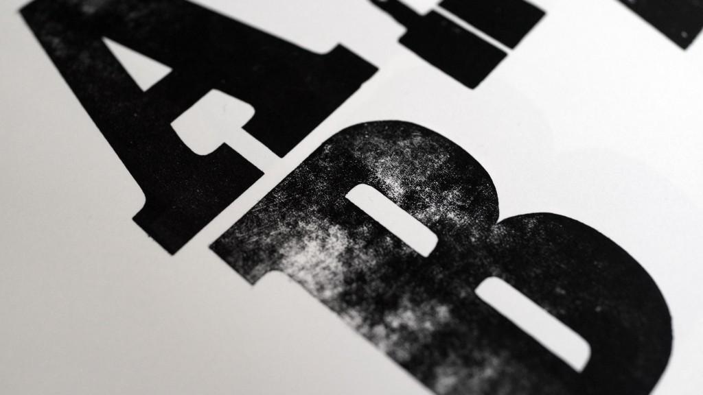 Letterpress Typecase Labels Letterpresser